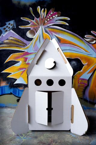 Kidsonroof rocketship