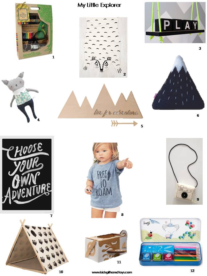 My little Explorer Christmas gift guide 2014